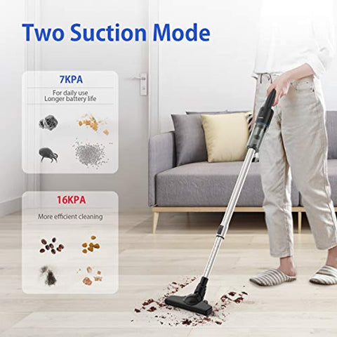 APOSEN 16KPa 5 in 1 Handheld & Stick Cordless Vacuum Cleaner A16S