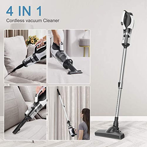 APOSEN 4 in 1 Stick Cordless Vacuum Cleaner 14KPa Lightweight-H20-4P