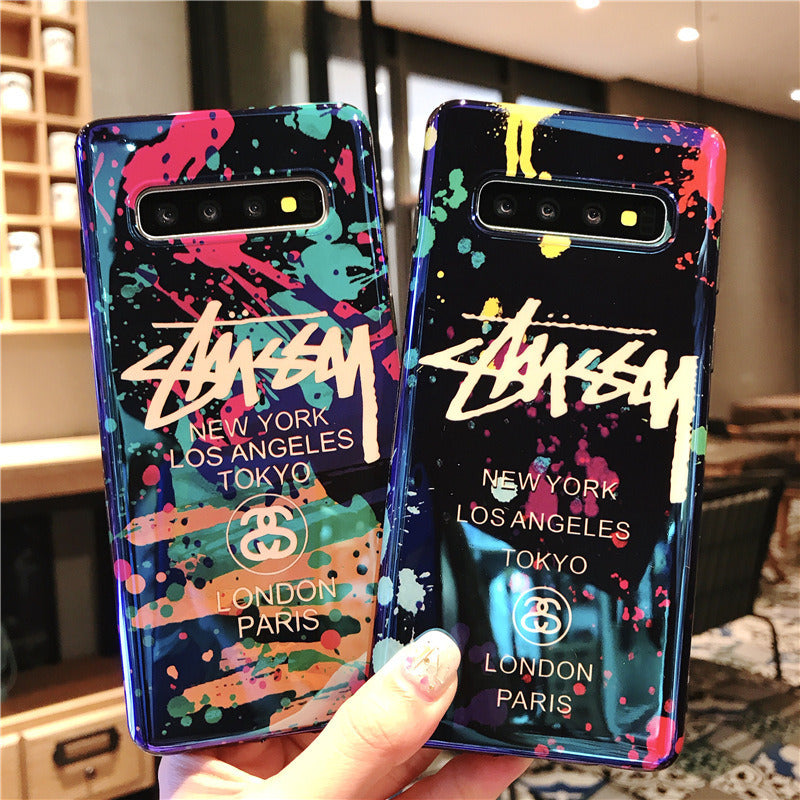 VaryFun丨Street Fashion Graffiti Phone Case For Samsung「stussy」