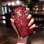 VaryFun丨French Style Luxury Diamond Phone Case For iPhone