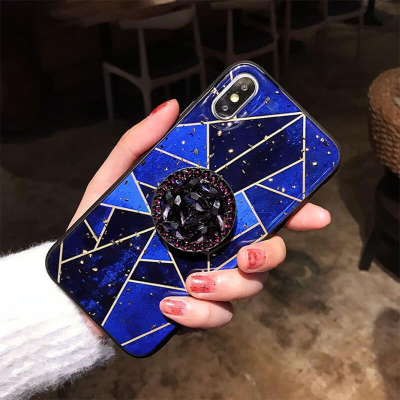 2020 New Fashion iPhone Case With Diamond Bracket