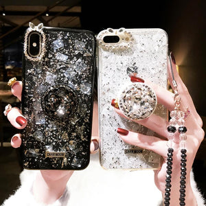 2020 New Diamond Bracket Phone Case For iPhone
