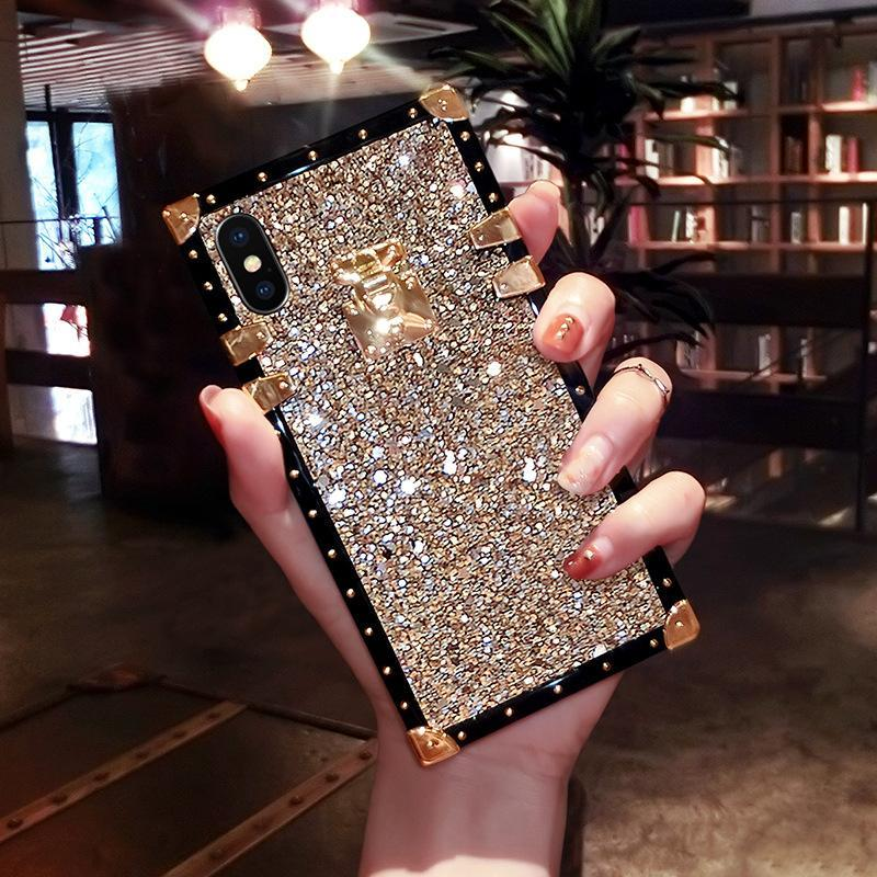 VaryFun丨French Style Luxury Diamond Phone Case For Samsung