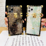 2020 Luxury Vintage Gold Marble Style Phone Case For iPhone Samsung