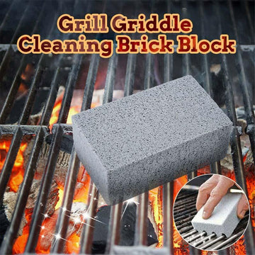 🔥Summer Limited Time-50% OFF🔥Grill Griddle Cleaning Brick Block (3 PCS)