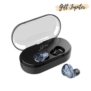 [IPX7 Waterproof and Bluetooth 5.0]2019 NEW TWS 6Z Transparent Earbuds Headset With Charger Box