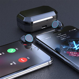 [IPX7 Waterproof & Bluetooth 5.0] G03 TWS Multifunctional Wireless Headset