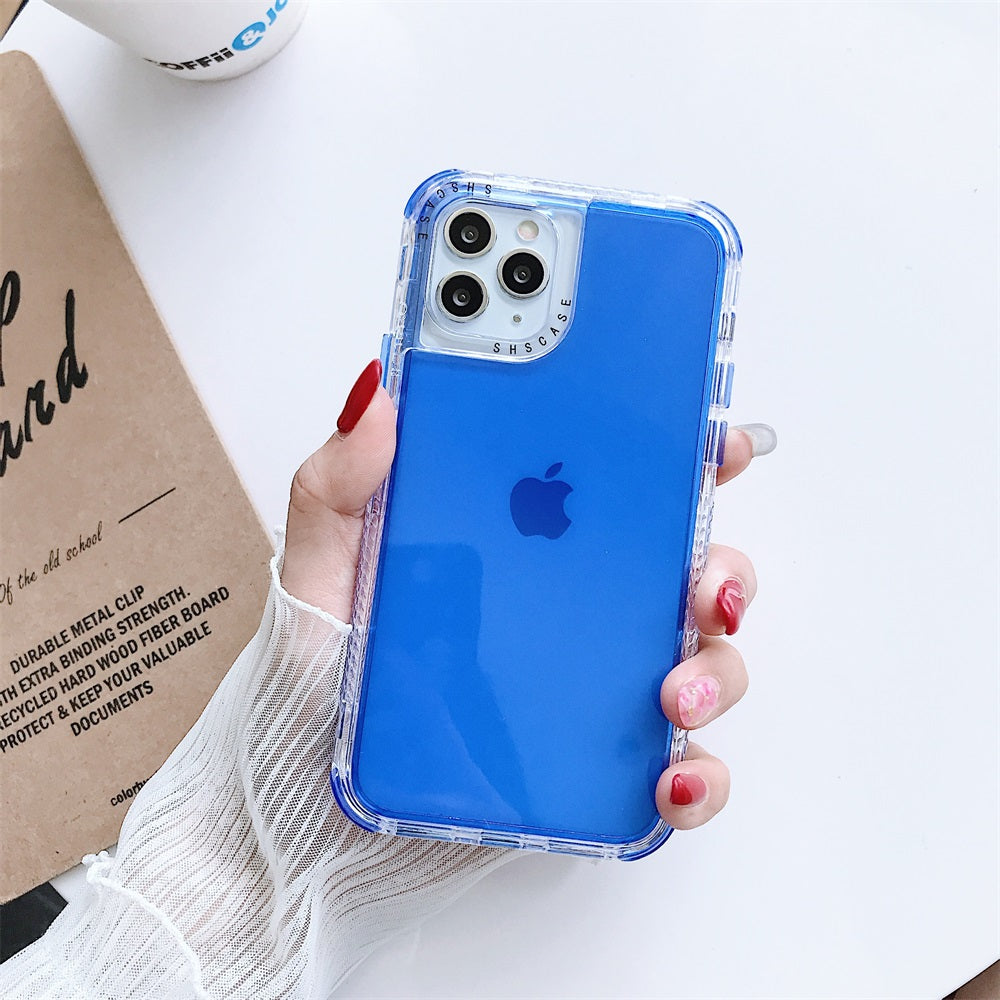 Colorful Double-sided shatter resistant iPhone case