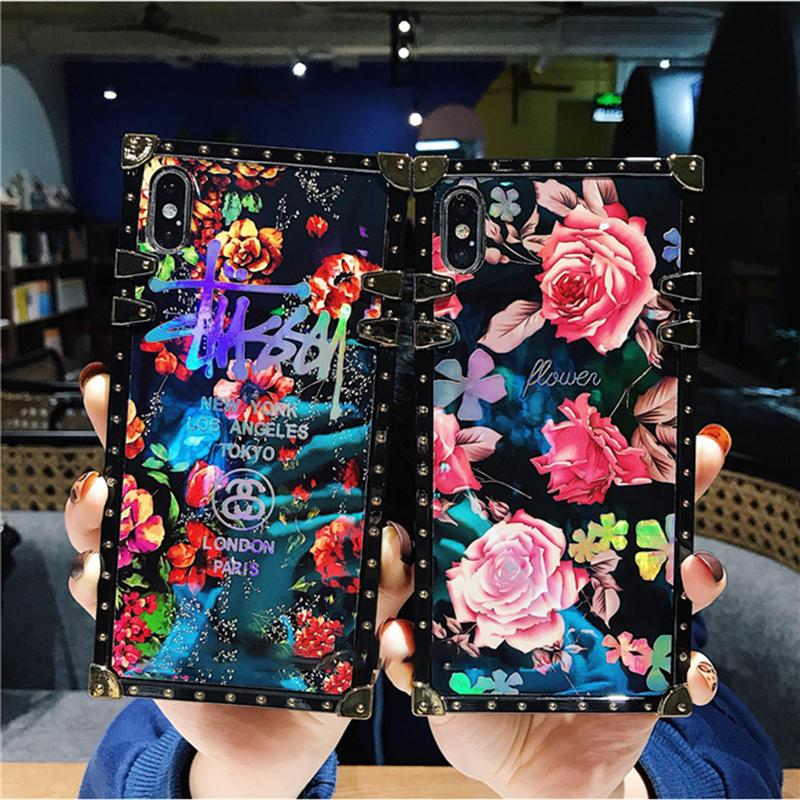 Vintage Fashion Rose Phone Case For iPhone Samsung Huawei - hotbuyy