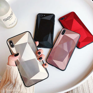 2020 Fantasy Diamond 3D Mirror Anti-drop iPhone Case