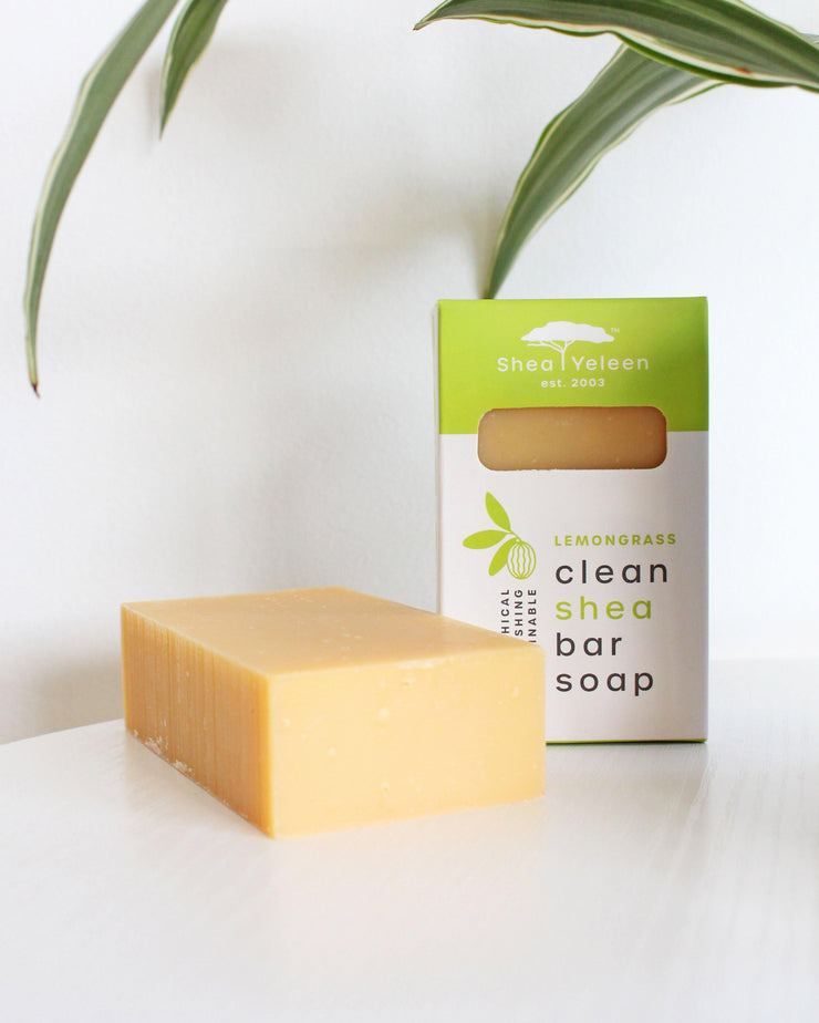 Lemongrass Peppermint Shea Butter Soap
