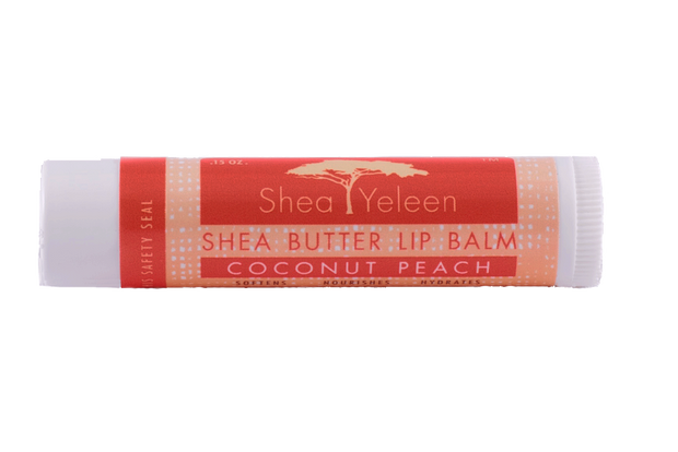 Coconut Peach Lip Balm