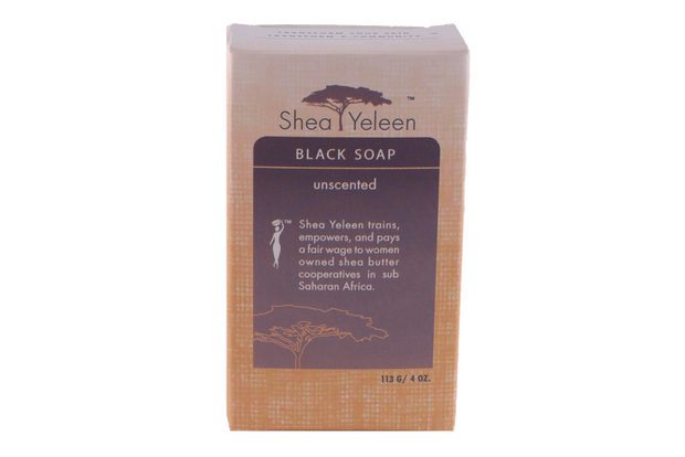 Unscented Black Soap