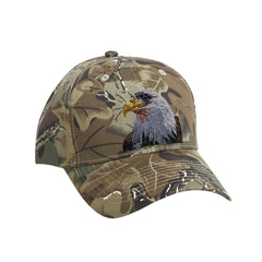 Bald Eagle embroidered on Camoflage Ball Cap from Rascals Sporting Dogs