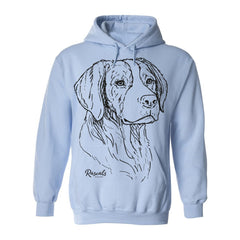 Hoodie w/ Large Brittany