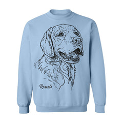 Sweatshirt w/ Large Golden Retriever