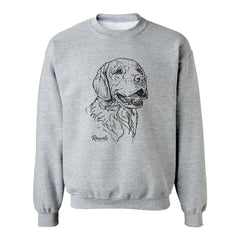 Personalized Golden Retriever Sweatshirt w/ Dog's Name