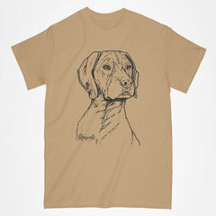 Personalized German Shorthair Pointer T-shirt w/ Dog's Name