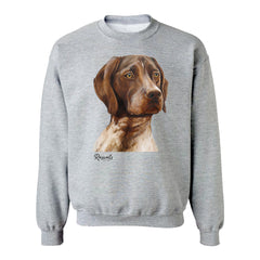 Sweatshirt w/ German Shorthair Pointer Painting