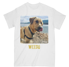 Add your dog photo and dog's name to create a custom t-shirt Classic  from Rascals Sporting Dogs custom collection