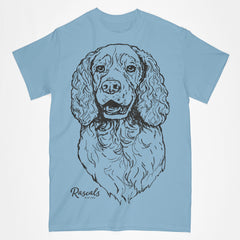 Classic T-shirt w/ Large Springer