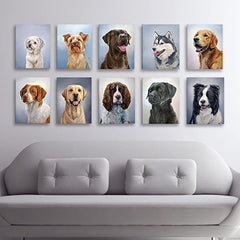 Gallery of Sporting Dog Paintings - hand mounted reproduction of artist Zann Hemphill's original oil paintings on Museum-Grade Archival Canvas from Rascals Sporting Dogs