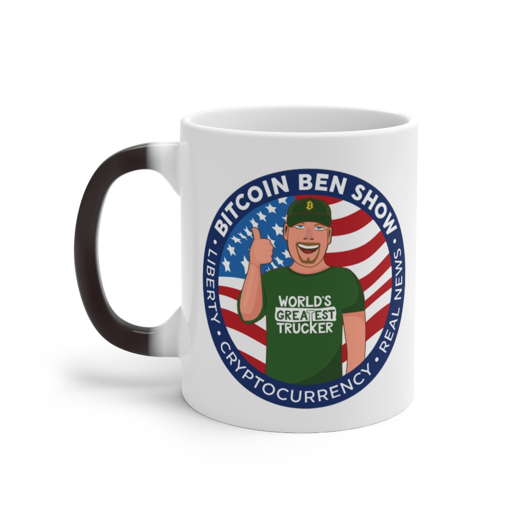 Bitcoin Ben Magic Mug