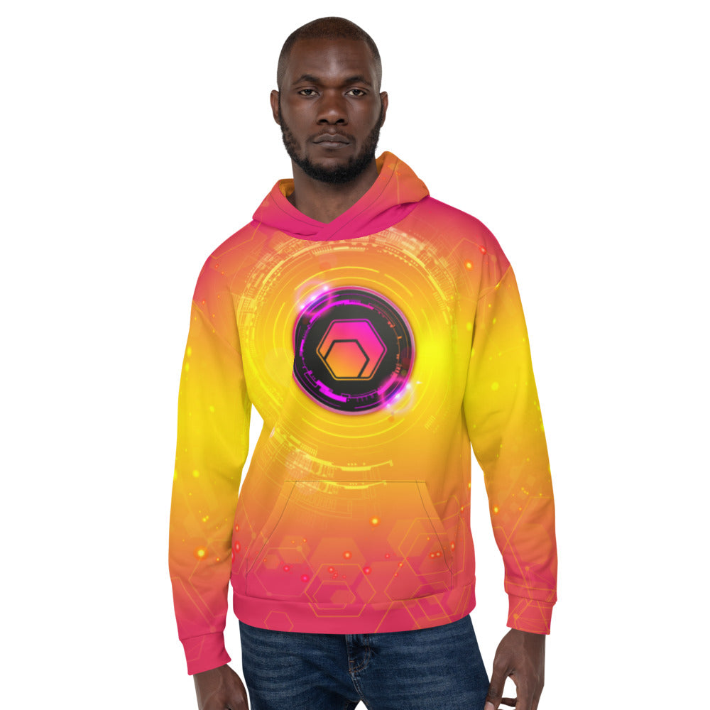 Hex All Over Print Hoodie