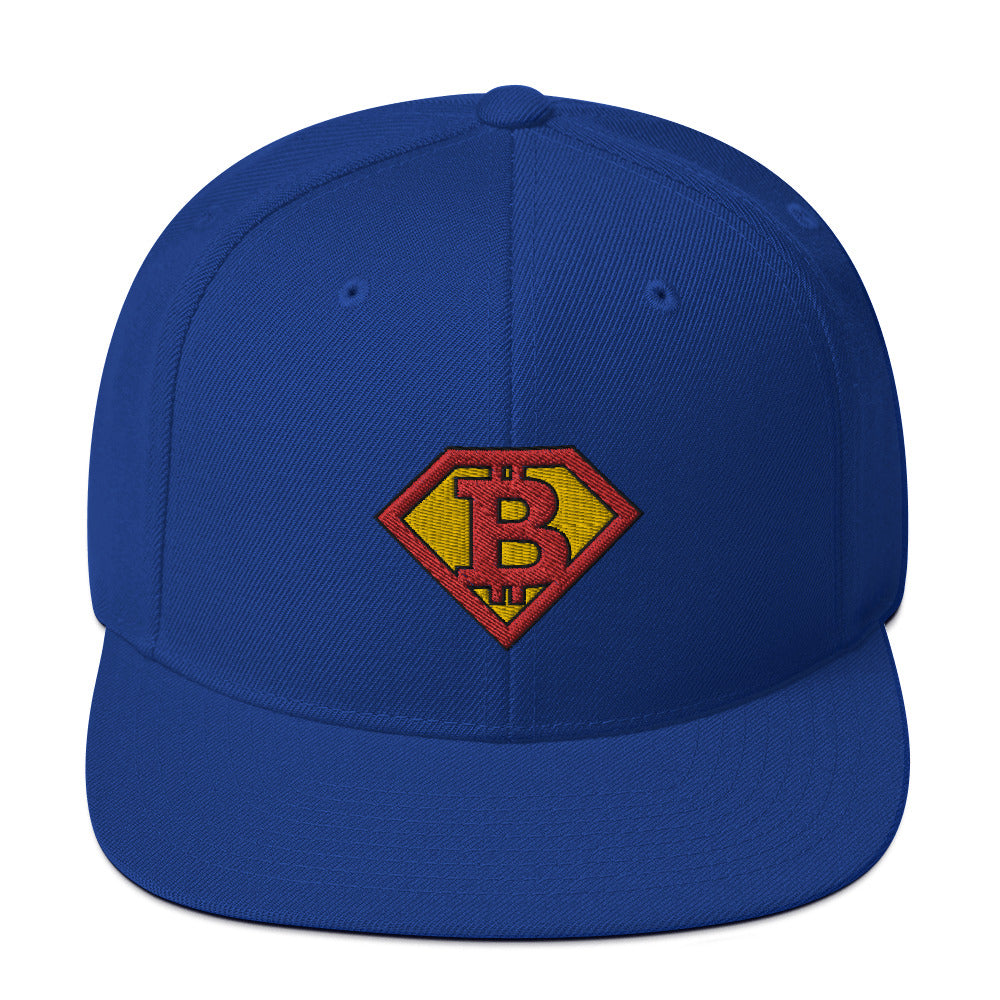 Super Bitcoin Flat Bill Cap