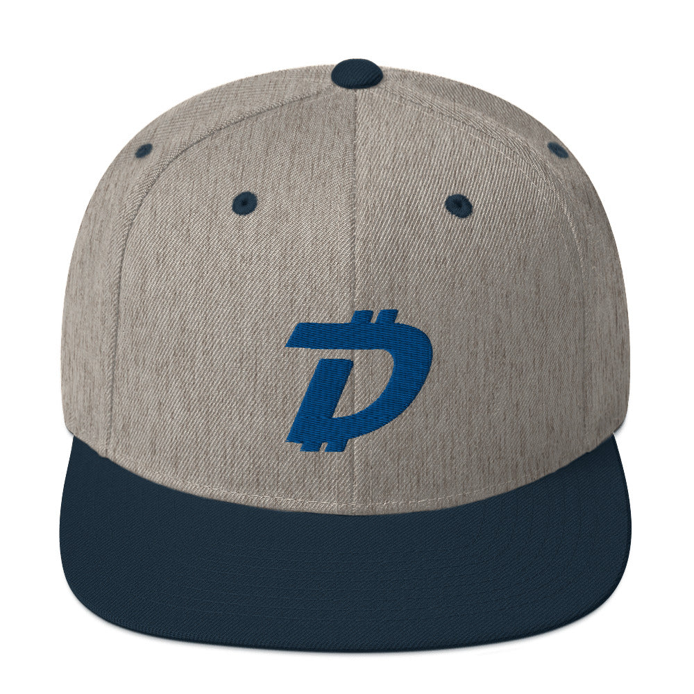 DigiByte Flat Bill Cap (blue)