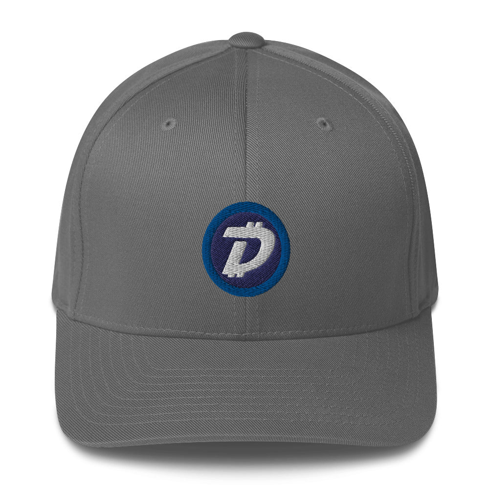 DigiByte Logo Flexfit Hat