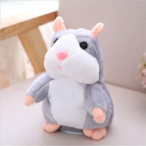 Grey Brown Hamster Toy
