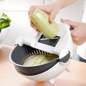 Multifunctional Vegetable Cutter Slicer With Drain Basket-1 Royal Living