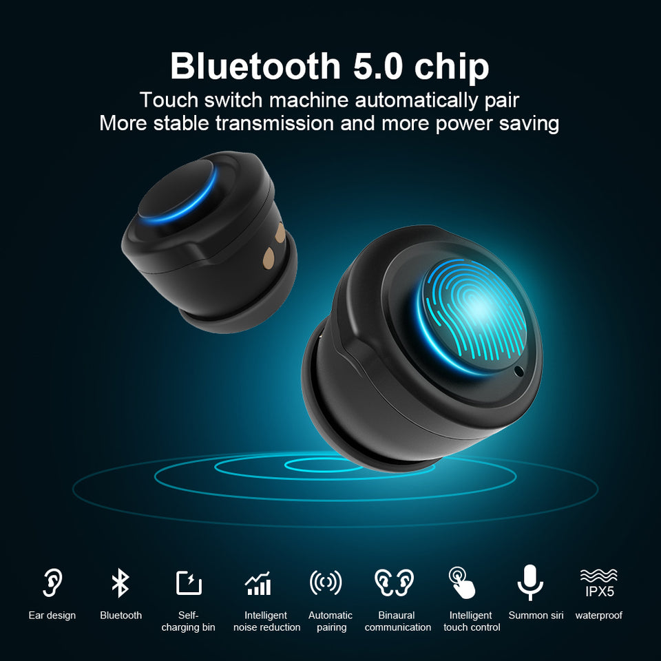 AI Smart Watch With Bluetooth Earphone-1 Royal Living