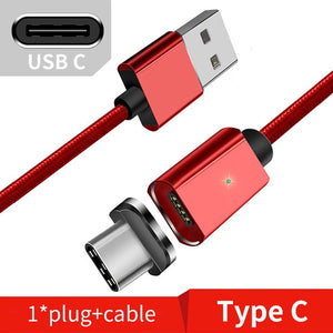 Magnetic Micro USB Cable For iPhone Samsung Fast Charging Data Wire Cord Magnet Charger-1 Royal Living