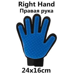 Pet Dog Cat Grooming Brush Glove-1 Royal Living
