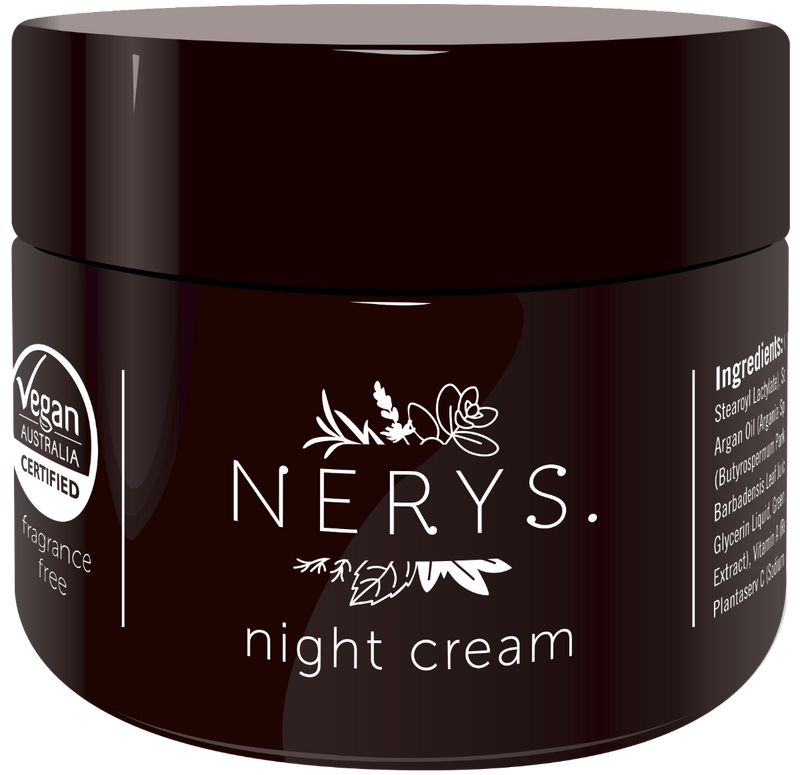 Nerys. Essential Night Cream 50mL Fragrance Free