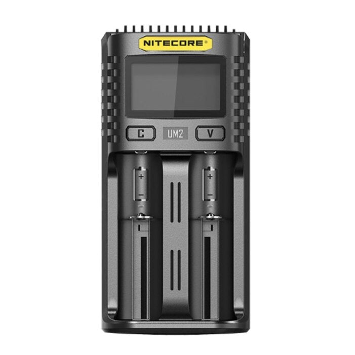 NiteCore UM2 2-Channel Charger Intelligent USB Charger