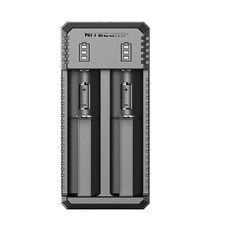 Nitecore UI2 Charger with 2 x 18650 (3500mAh) Battery