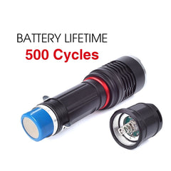 Pivoi Metal body Flashlight Battery