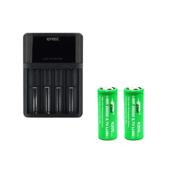 Efest Elite LUC V4 HD Charger with 2 x 26650 (4200mAh) Battery