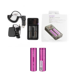 Efest LUC V2 Charger with 2 x 18650 (3100mAh) Battery