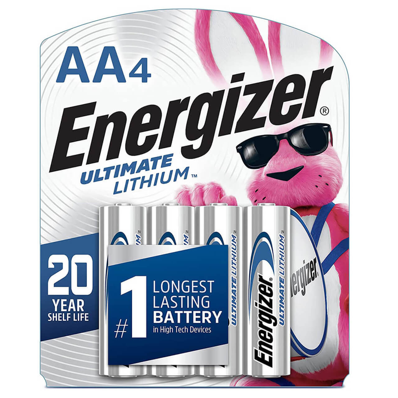 Energizer L91SBP-4 Ultimate LI AA-4 Battery, 4 Count (Pack of 1)