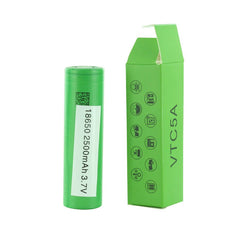 Sony VTC5A 18650 2600mAh 25A 3.7V Rechargeable Batteries Flat-Top - Pack of 2
