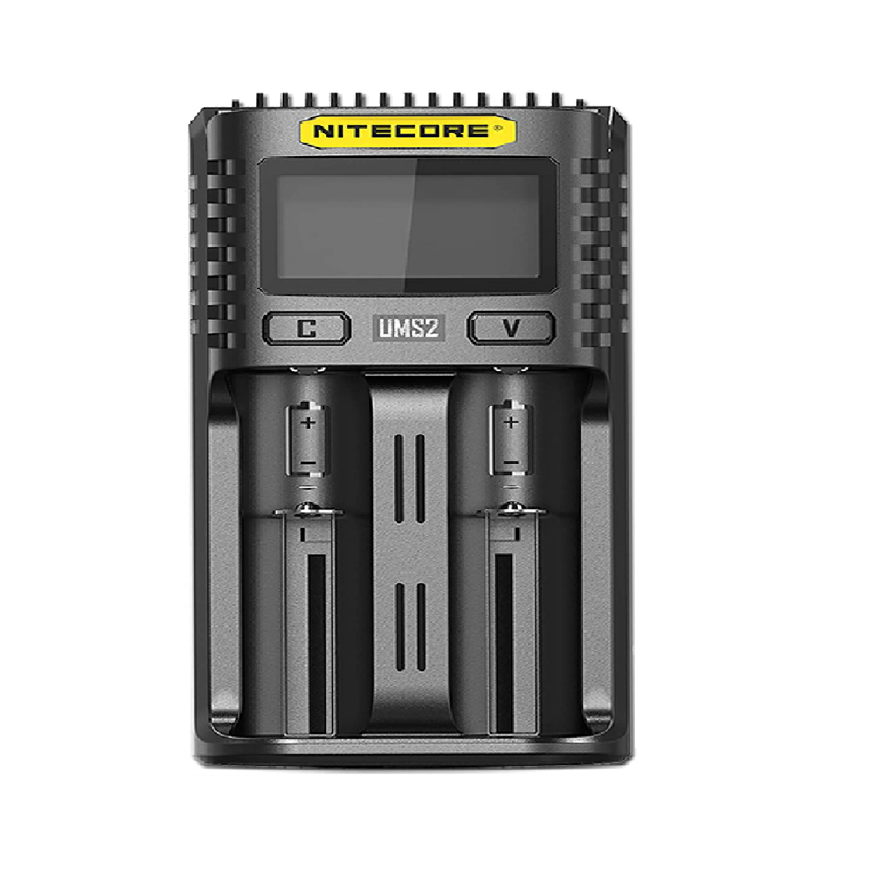 NITECORE UMS2 Dual-Slot USB Fast Charger, for 18650, 21700 batteries
