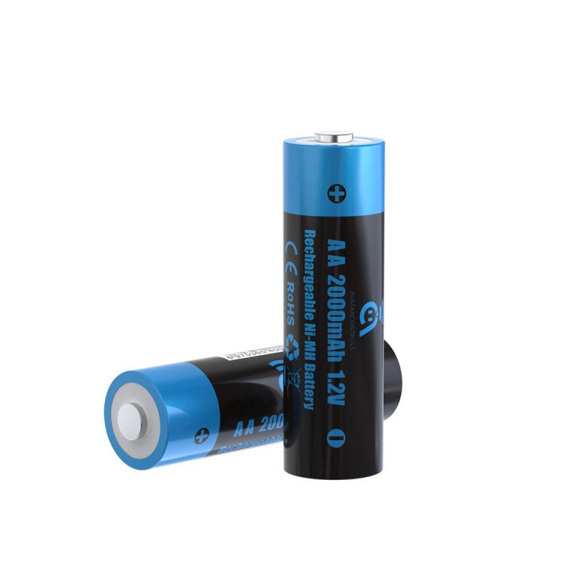 Avatar AA 2000mAh 1.2v Rechargeable Ni-MH Battery