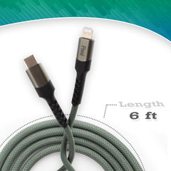 Pivoi MFI Type-C to Lightning Cable 1M