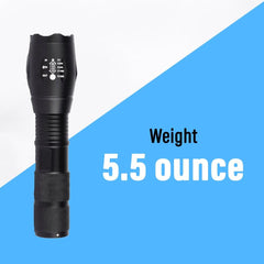 10W Metal Body Flashlight