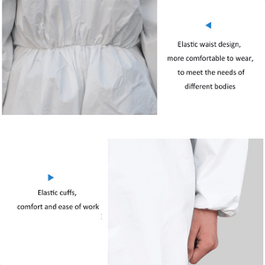 Disposable Anti Bacterial Protective Suit