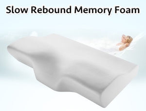 Head Neck Spine Support Memory Foam Pillow
